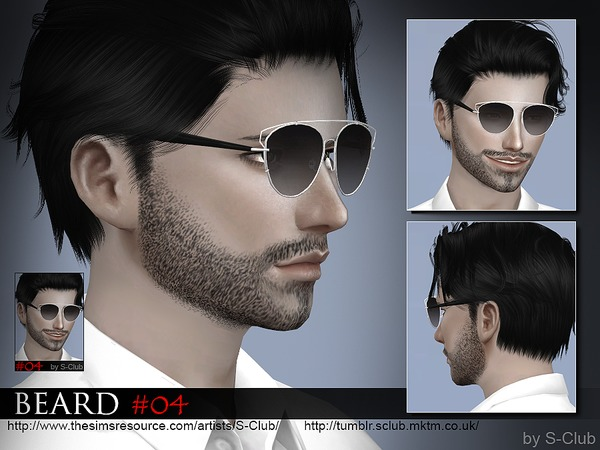 S-Club WM thesims4 Beard 04