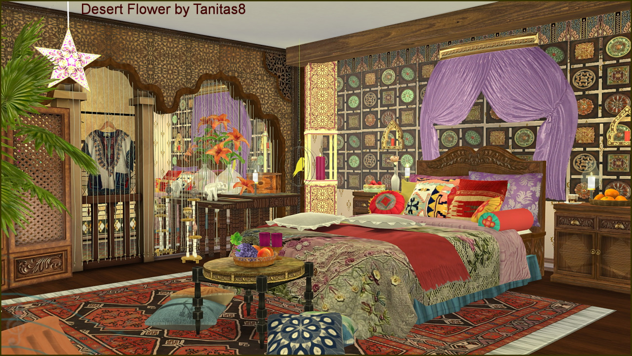 Desert Flower House by Tanitas8