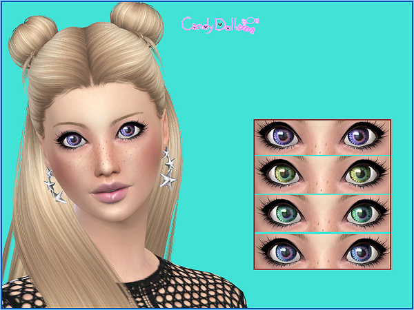 Candy Doll Real Eyes Set by DivaDelic06