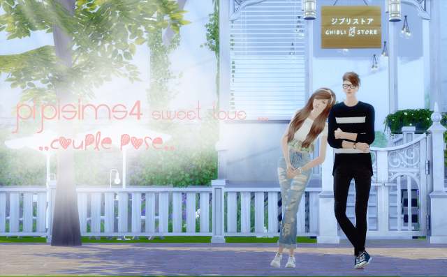 Sweet Love Couple Pose Set # 1 by PIPI