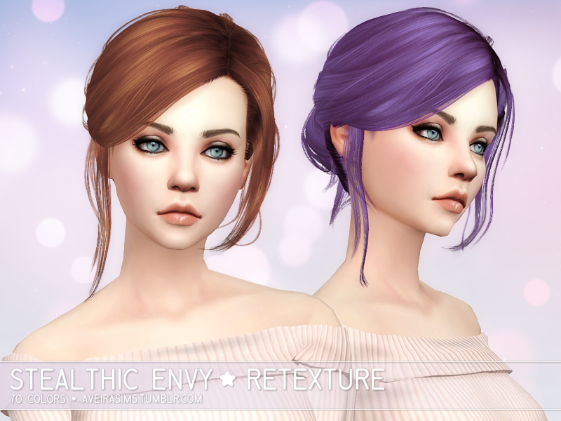 Stealthic Envy Hair Retexture by Aveira