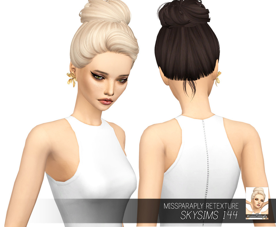 Miss Paraply  Hairstyles : Skysims 144: Solids