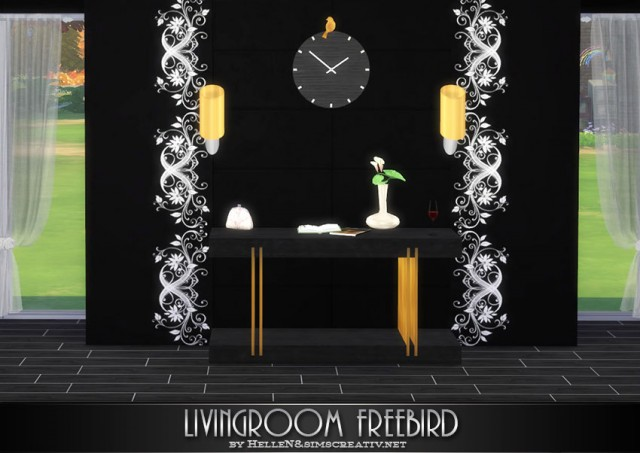 Livingroom Freebird by HelleN