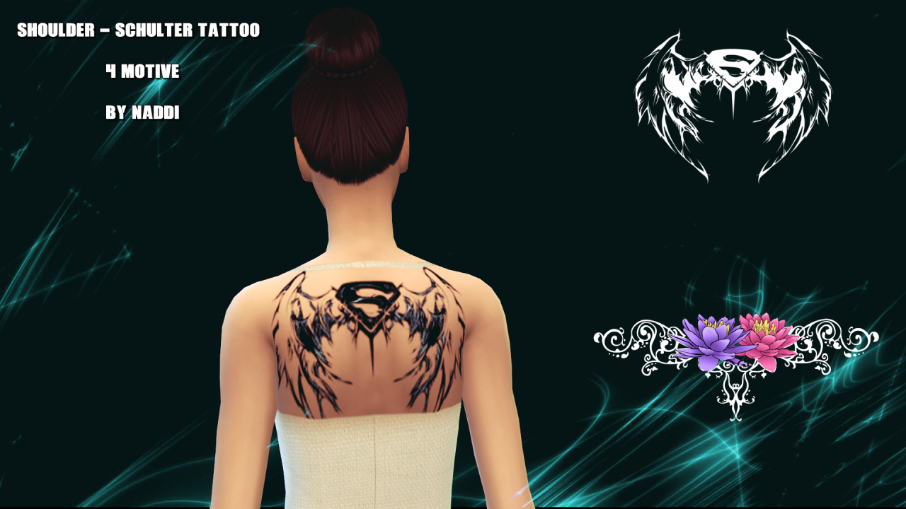 Naddi  Tattoos : TATTOO SET