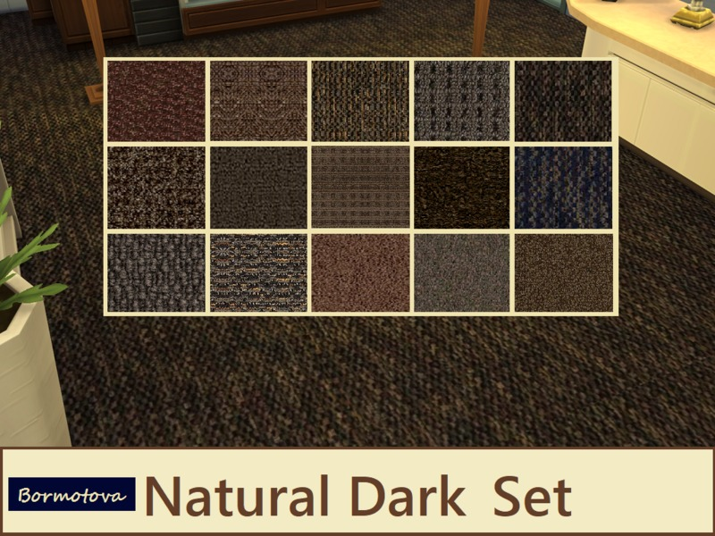 Dark Naturals Set Published BY abormotovaI