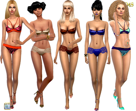 Ladies Lingerie by D4S