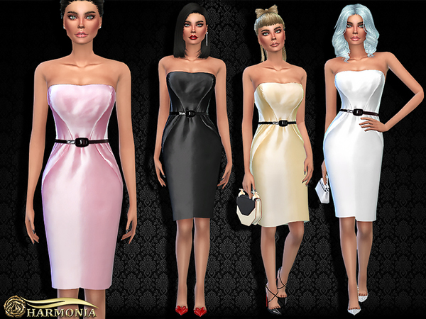 Black Label Cocktail Dress by Harmonia