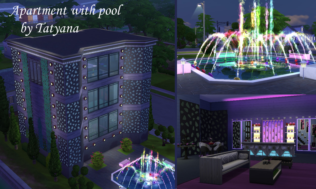 Tatyana Name  Houses and Lots, Residential Lots : Apartment with pool (no CC)