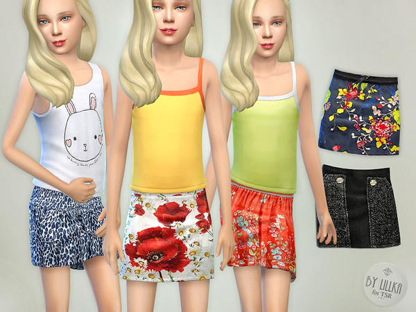 Skirts Collection 02 by lillka