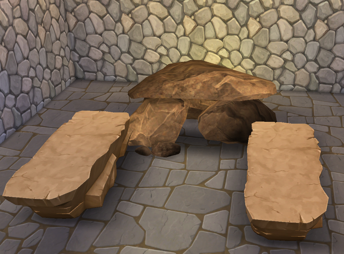 Prehistoric Sauna by HistoricalSimsLife