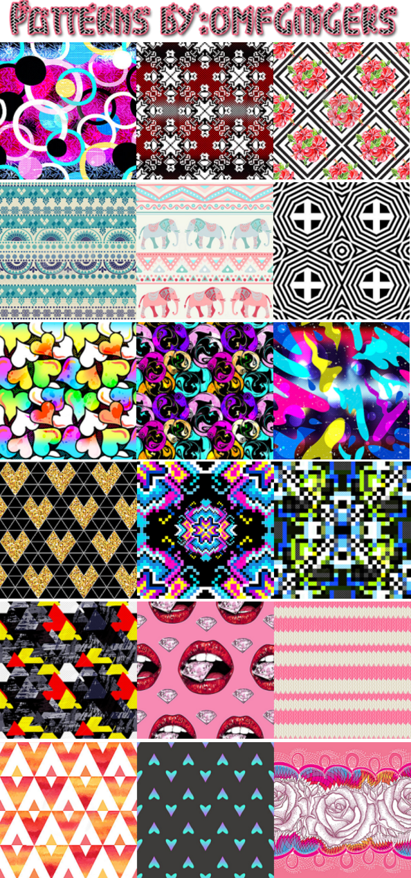 Patterns by Omfgingers