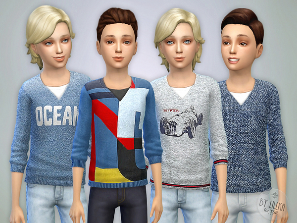 Sweater for Boys P01 by lillka