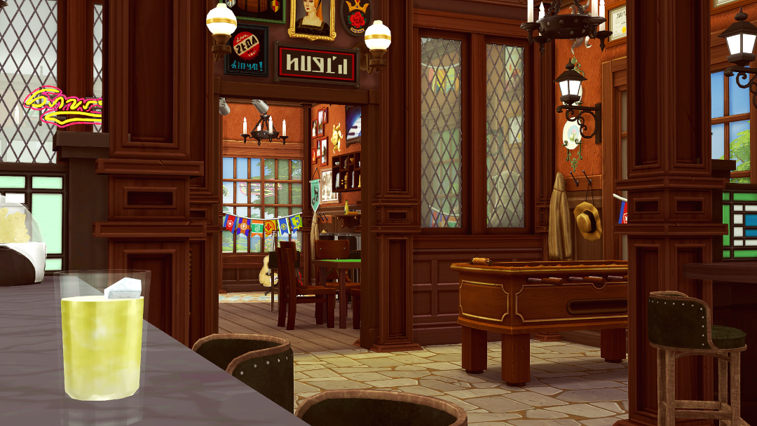 Furnished Callahan's Pub & Cafe Mocha by Jenba