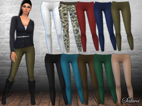 Ladies Casual Pants by Saliwa