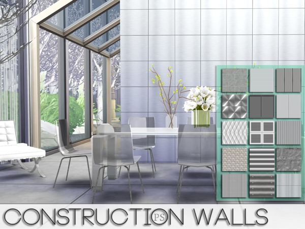 Construction Walls by Pralinesims