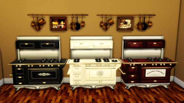 COUNTRY STOVE - POTS by leo-sims