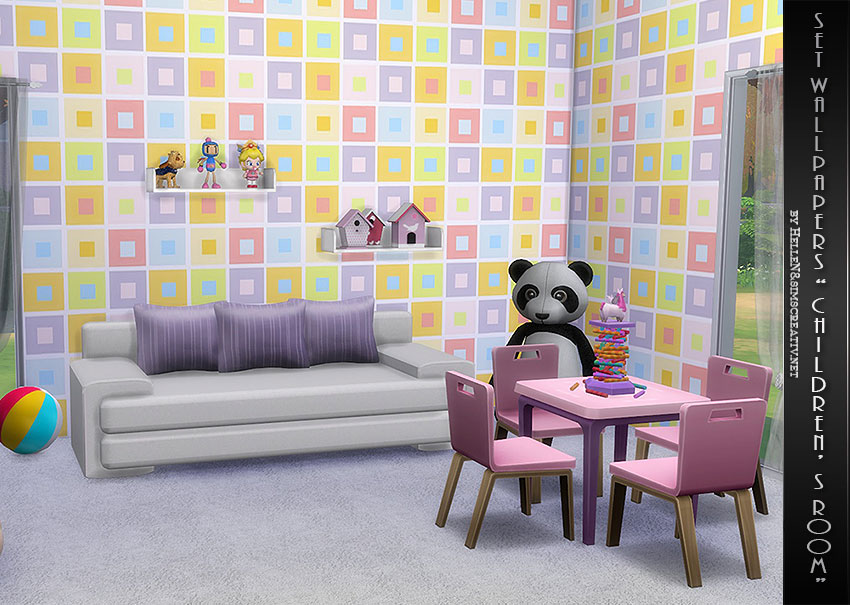 Children's Room Wallpaper by Hellen