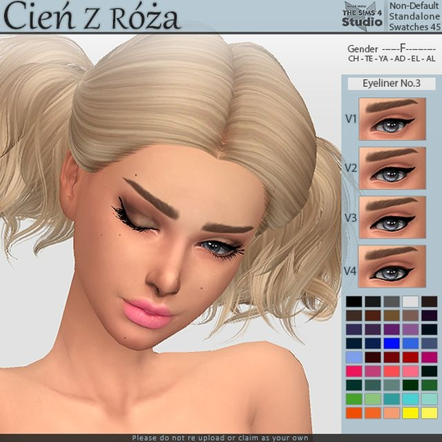 Eyeliner No 3 by Cienzroza
