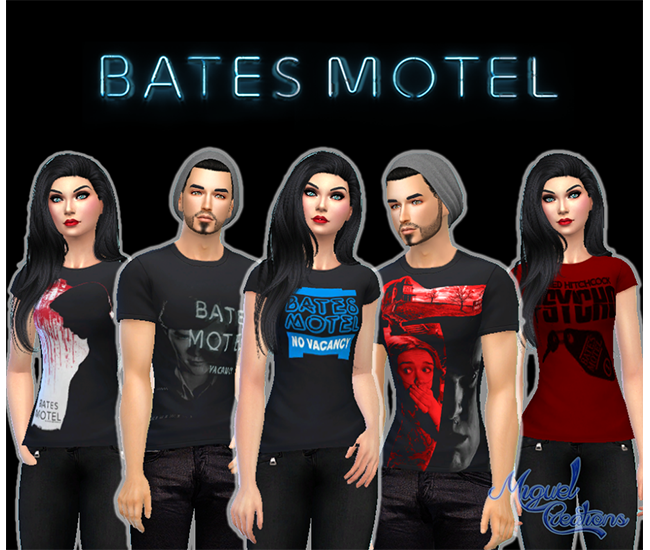 Shirts Bates Motel by Victor Miguel