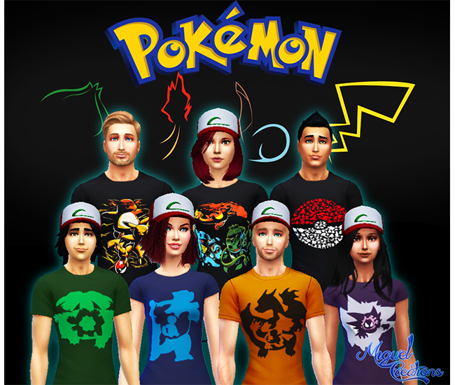 Camiseta Pokemon - Unissex by Victor Miguel