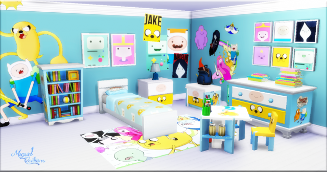 Bedroom - Adventure Time by victorrmiguell