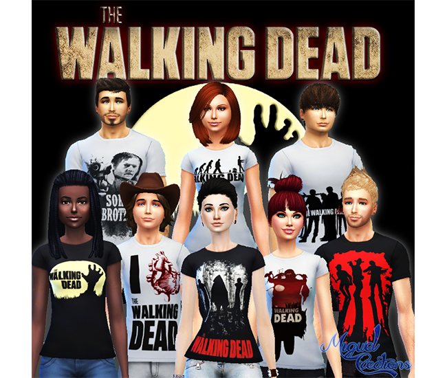 Camiseta The Walking Dead (TWD) - Unissex by Victor Miguel