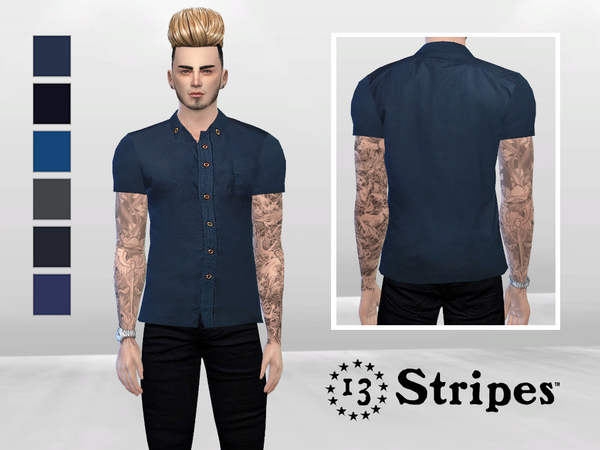 Ezra Basic Shirt by McLayneSims