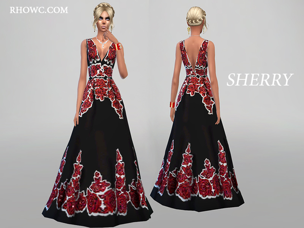 SHERRY GOWN by RHOWC