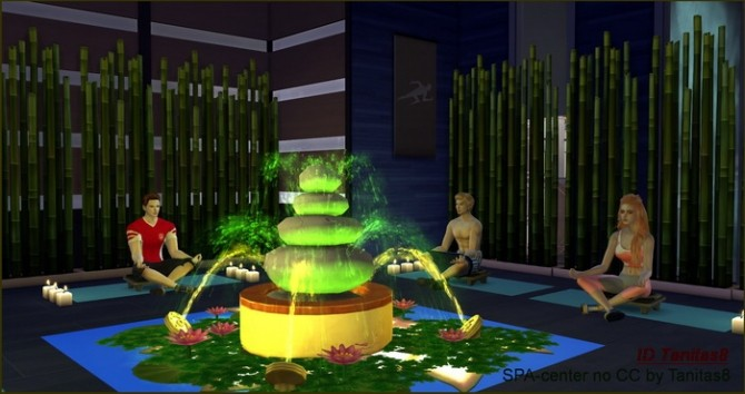 SPA CENTER NO CC AT TANITAS8 SIMS