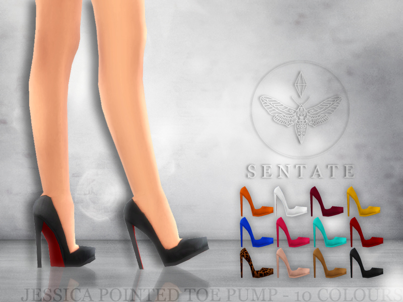 Jessica Stiletto Pump BY Sentate