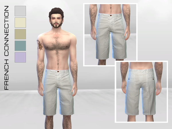Peached Cotton Shorts by McLayneSims