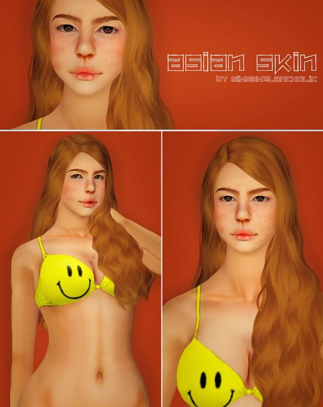 Asian Skin by sims3melancholic