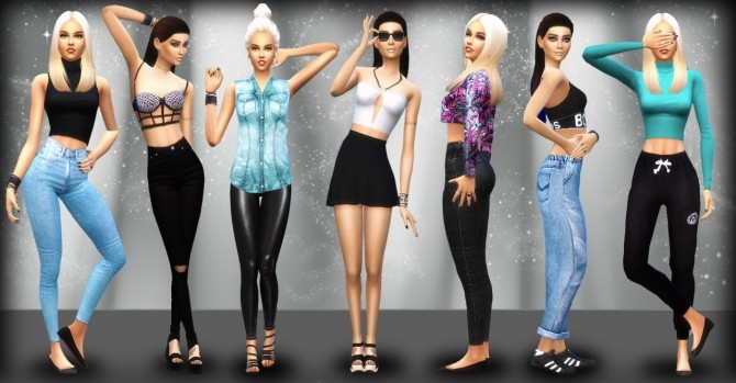 POSE PACK 2 AT RANDOMCHICK32