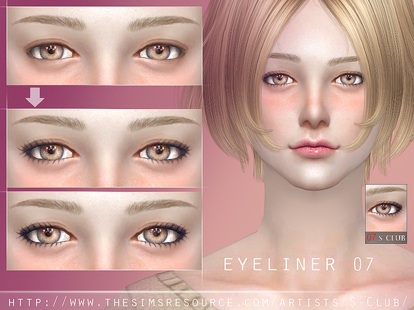 S-Club WM ts4 eyeliner 07