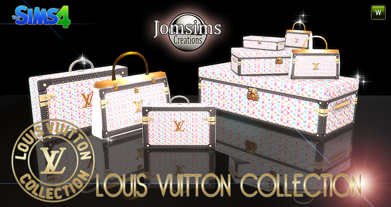 Louis Vuitton Luggage by JomSims