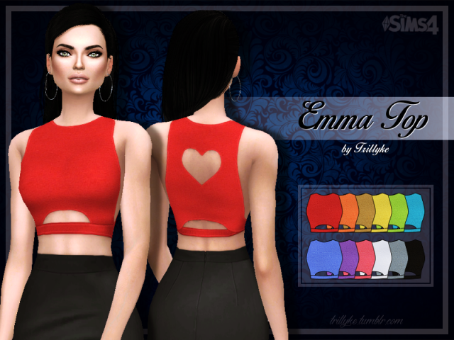 Emma Top by trillyke