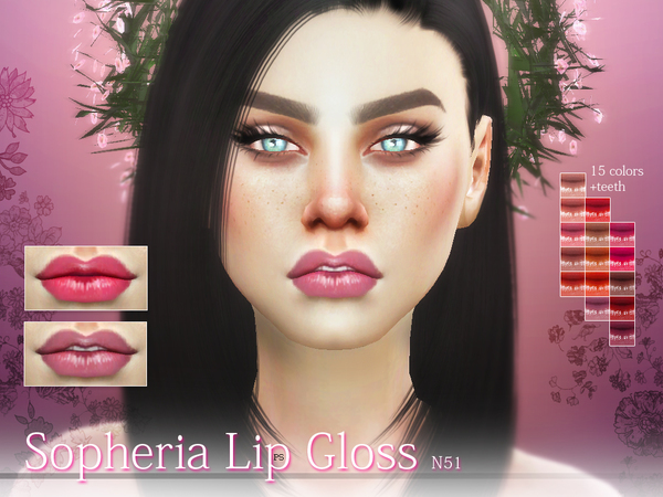 Sopheria Lip Gloss  N51 by Pralinesims