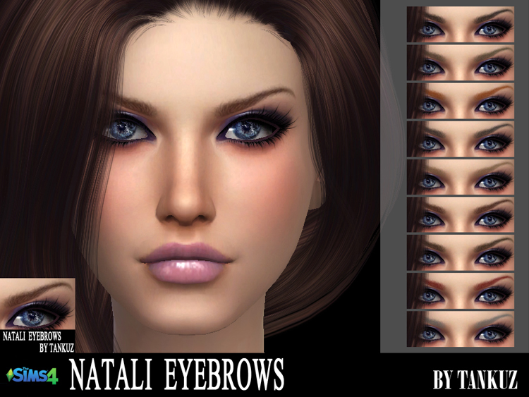 Natali Eyebrows by Tankuz