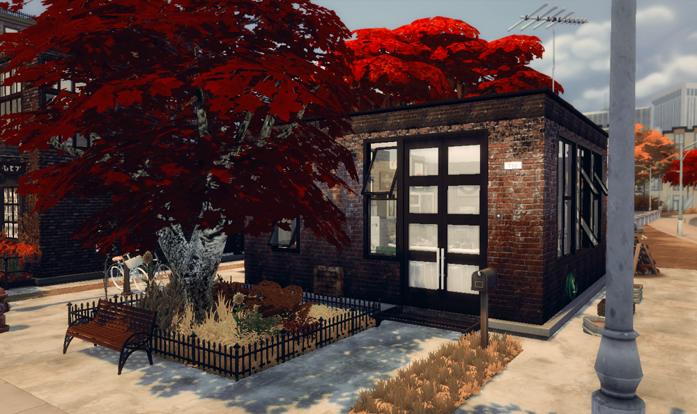 733 Central Ave by NecroberrySims