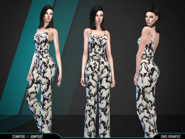 Stampede Jumpsuit by SIms4Krampus