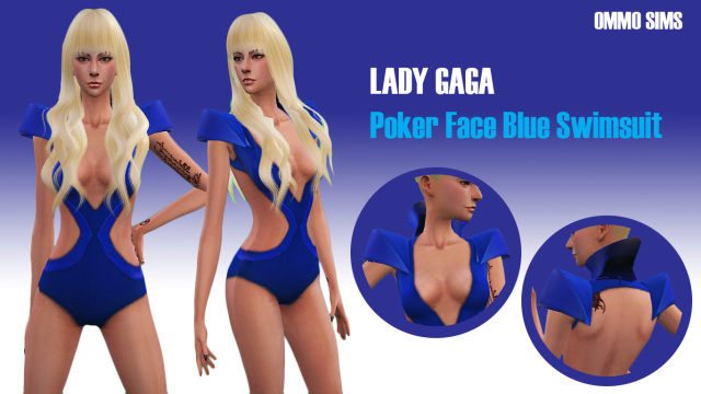 Lady Gaga by ommo sims