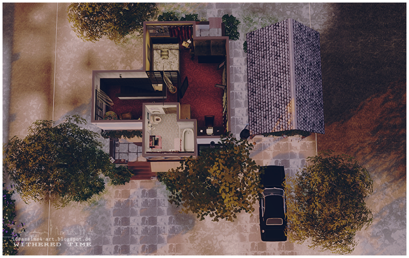 Withered Time House by Ideas Sims 4 Art