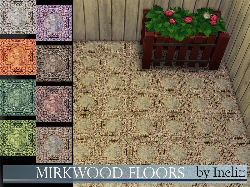 Mirkwood Floors BY Ineliz