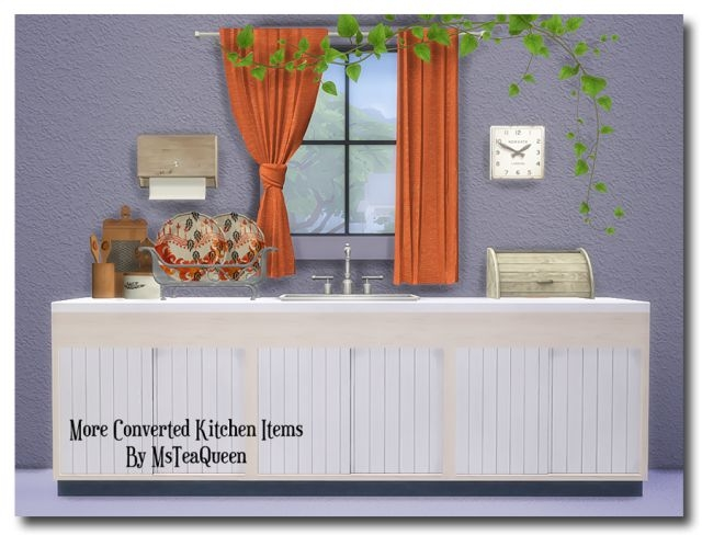 TS2 To TS4 - More Kitchen Items II by MsTeaQueen