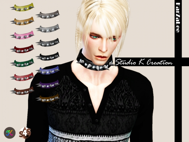 Spiked Collar for male by Karzalee