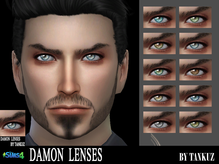 Damon Lenses by Tankuz
