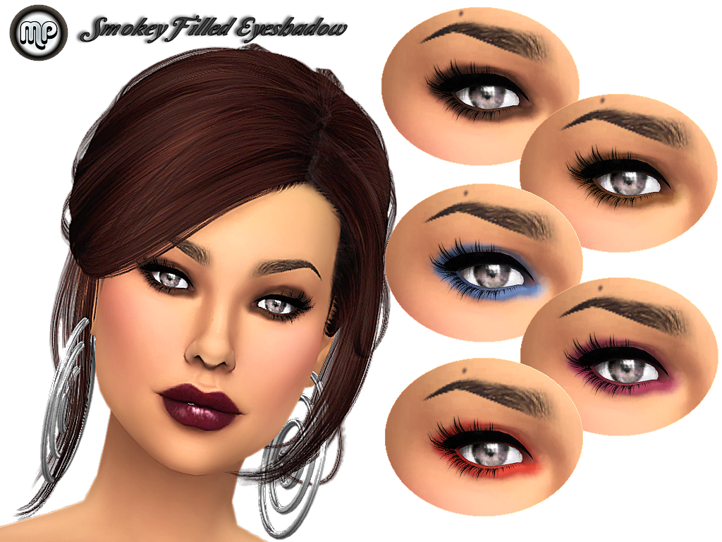 Smokey Filled Eyeshadow by MartyP