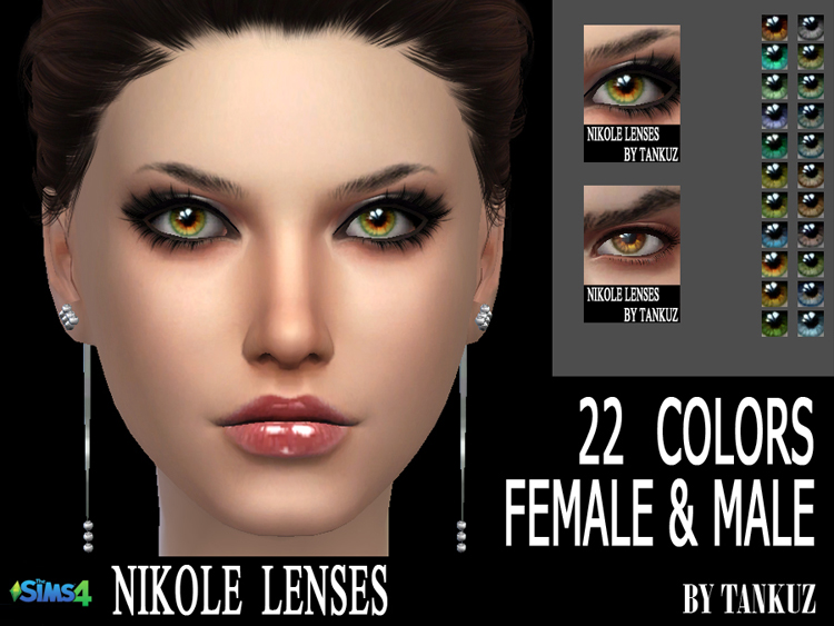 Nikole Lenses by Tankuz