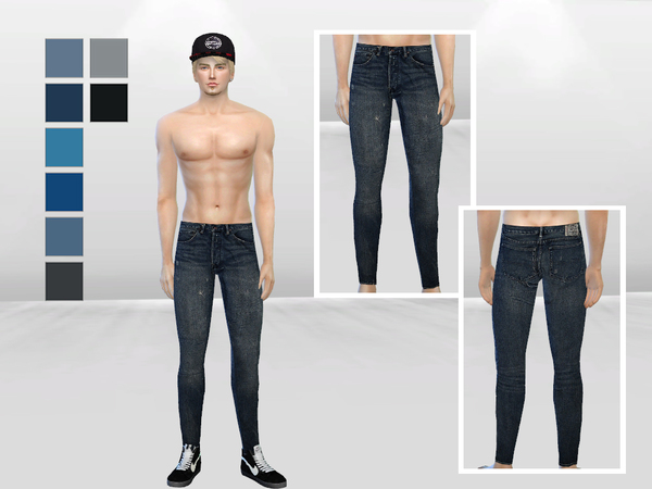 Apex Version 2 Plain Skinny Jeans by McLayneSims