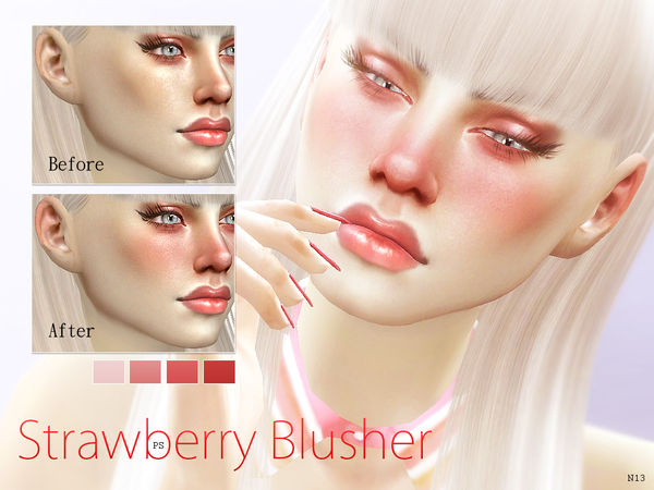 Strawberry Blusher  N13 by Pralinesims